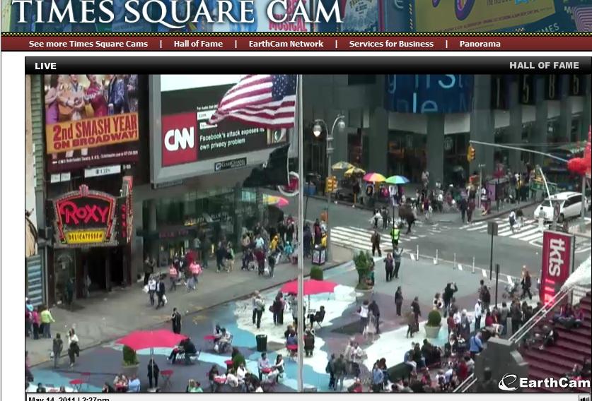 Live times square gigapixel new york city nasdaq web cam new york